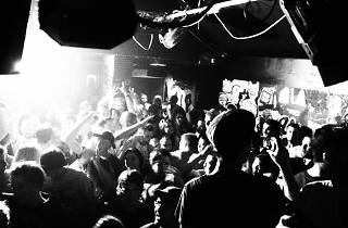 sneaky pete's crowd bw