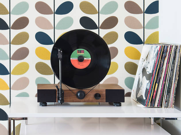 Gramovox Vertical Turntable launch party
