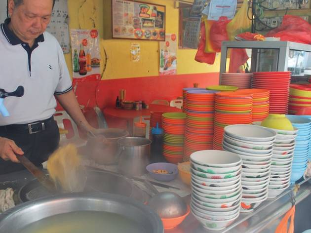 Check out Ngau Kee, one of KL's maiden beef ball noodles stalls