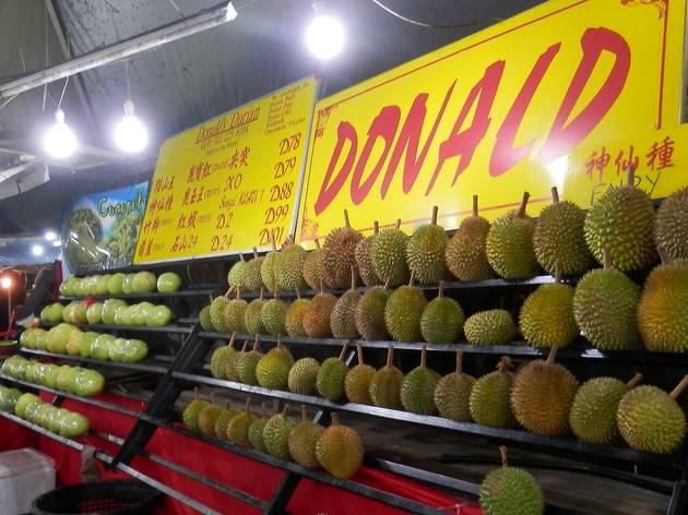 Dig into a durian buffet at Donald's