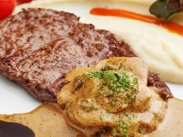 Steak a la Diane at PRIME