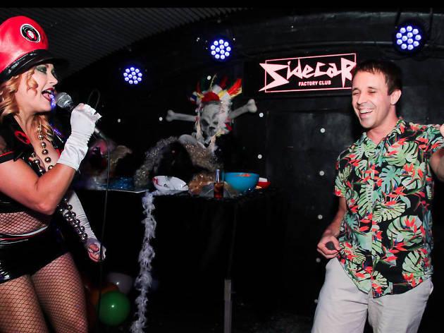 Anti-Karaoke Sidecar