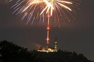 Uto Kulm fireworks 1 August