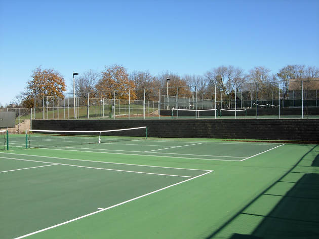 Riverside Park tennis courts
