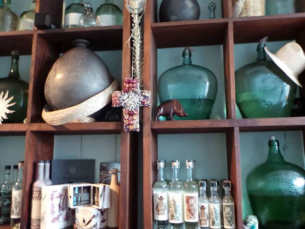 La mezcalería Cuish en Oaxaca