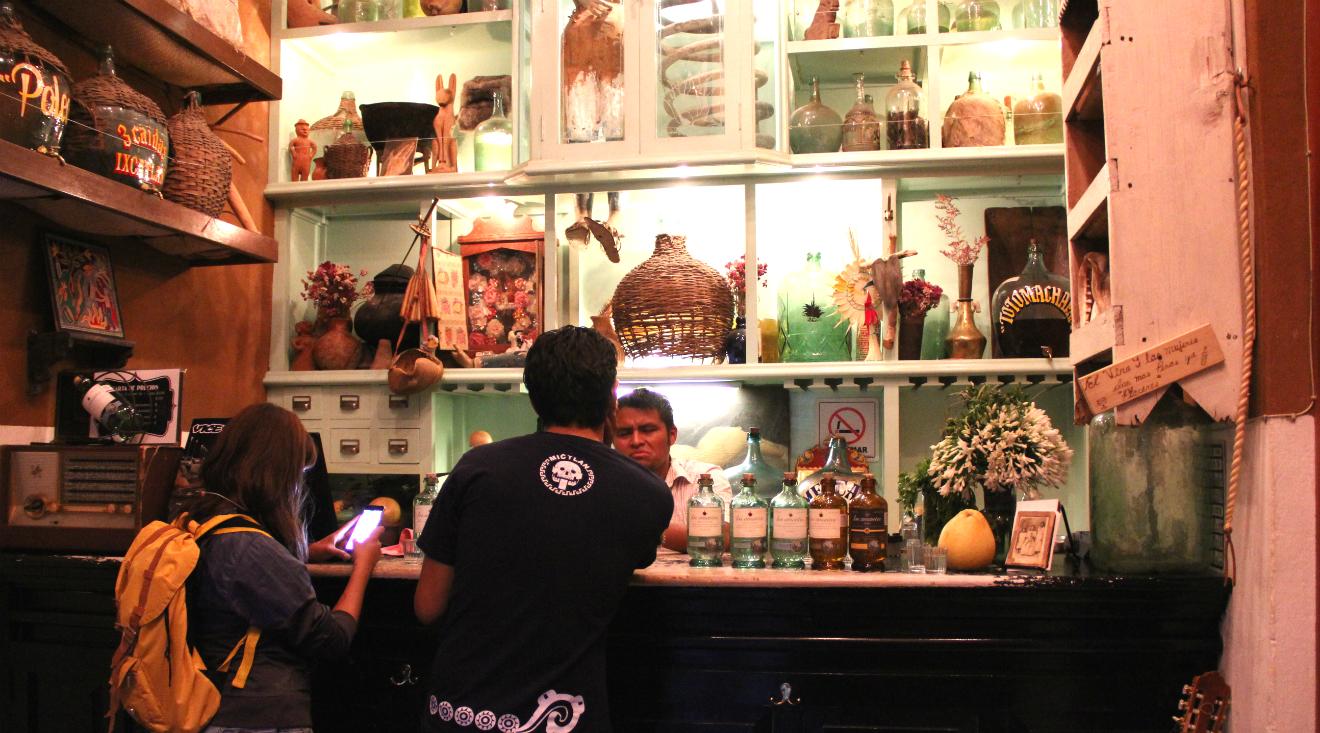 Mezcalerías en Oaxaca