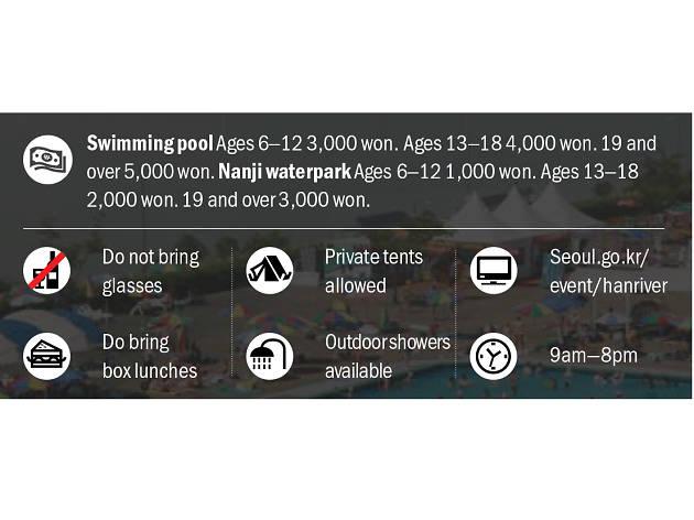 한강 수영장 가격 영어