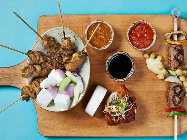 Oriental Grill Board at Pool Bar & Grill@8