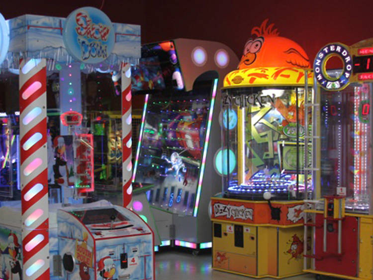 The best family-friendly arcades in NYC