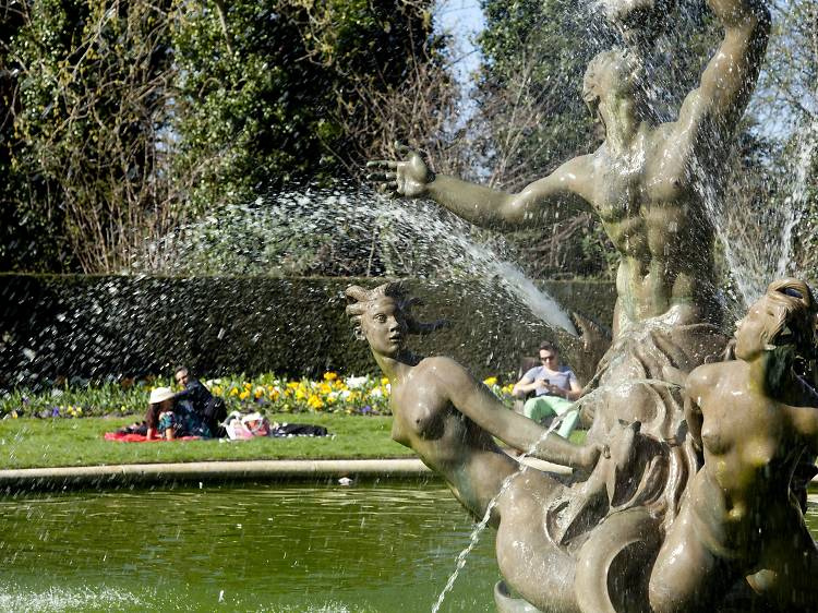 Triton Fountain, Regent's Park