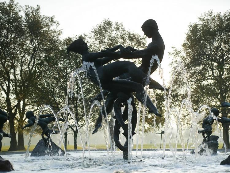 Joy of Life Fountain, Hyde Park