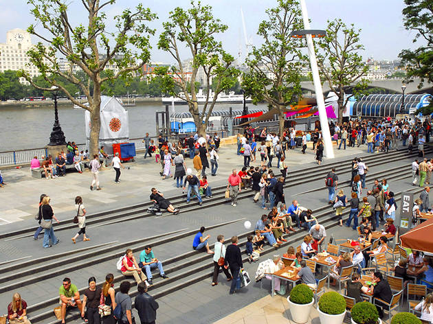 9am: Enjoy the South Bank before the crowds do