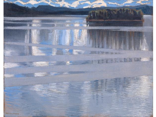 ('Lake Keitele' (1905) by Akseli Gallen-Kallela, chosen by Chris Watson)