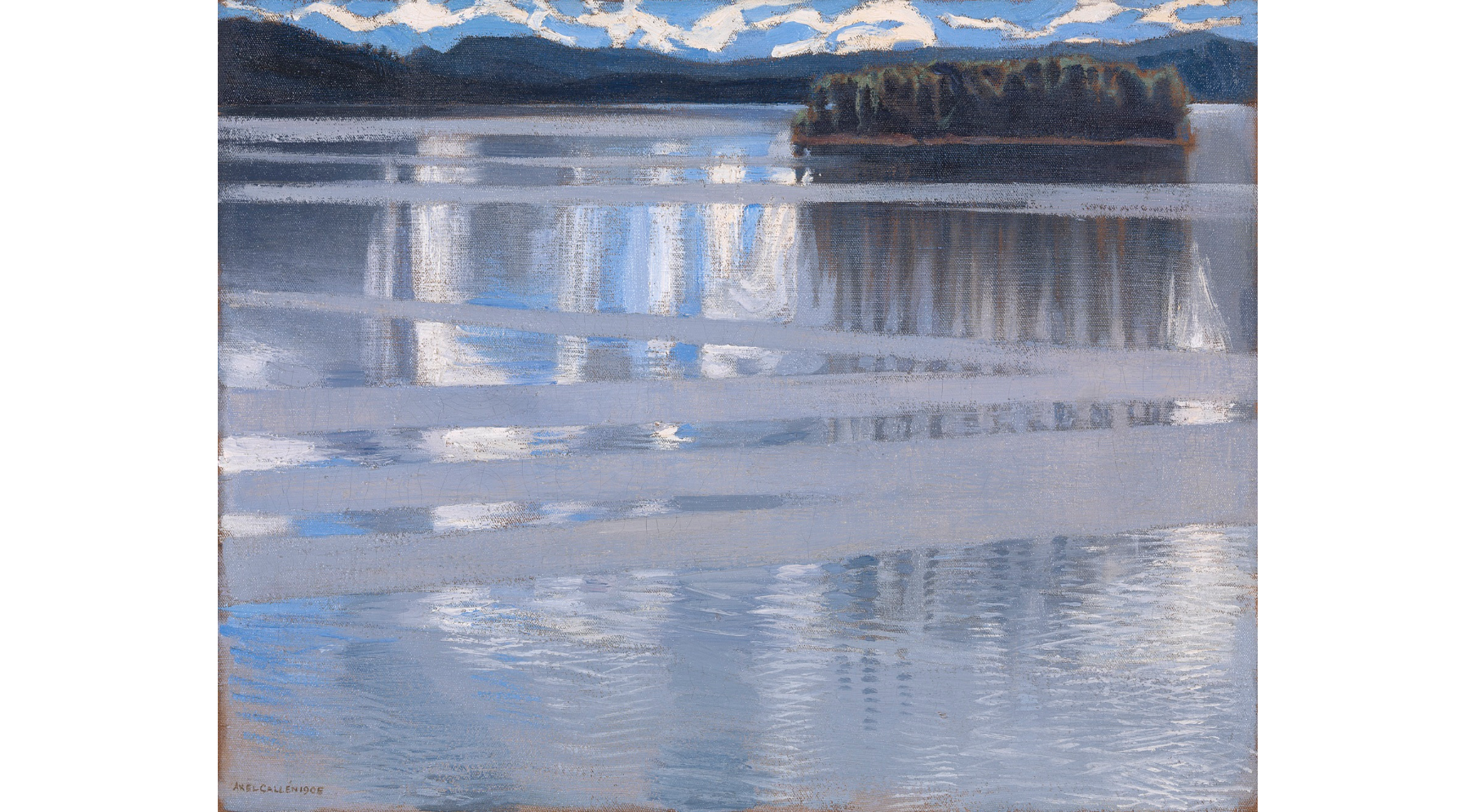 ('Lake Keitele' (1905) by Akseli Gallen-Kallela, chosen by Chris Watson)