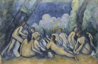 ('Bathers (Les Grandes Baigneuses)' (c1894-1905) by Paul Cézanne, chosen by Gabriel Yared)