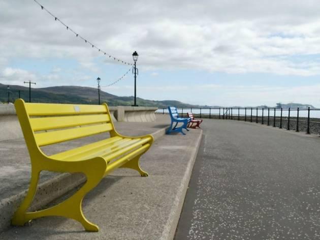 Largs Promenade benches