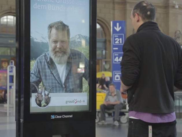 Viral tourism ad entices Zurich commuters to go to a Graubünden village