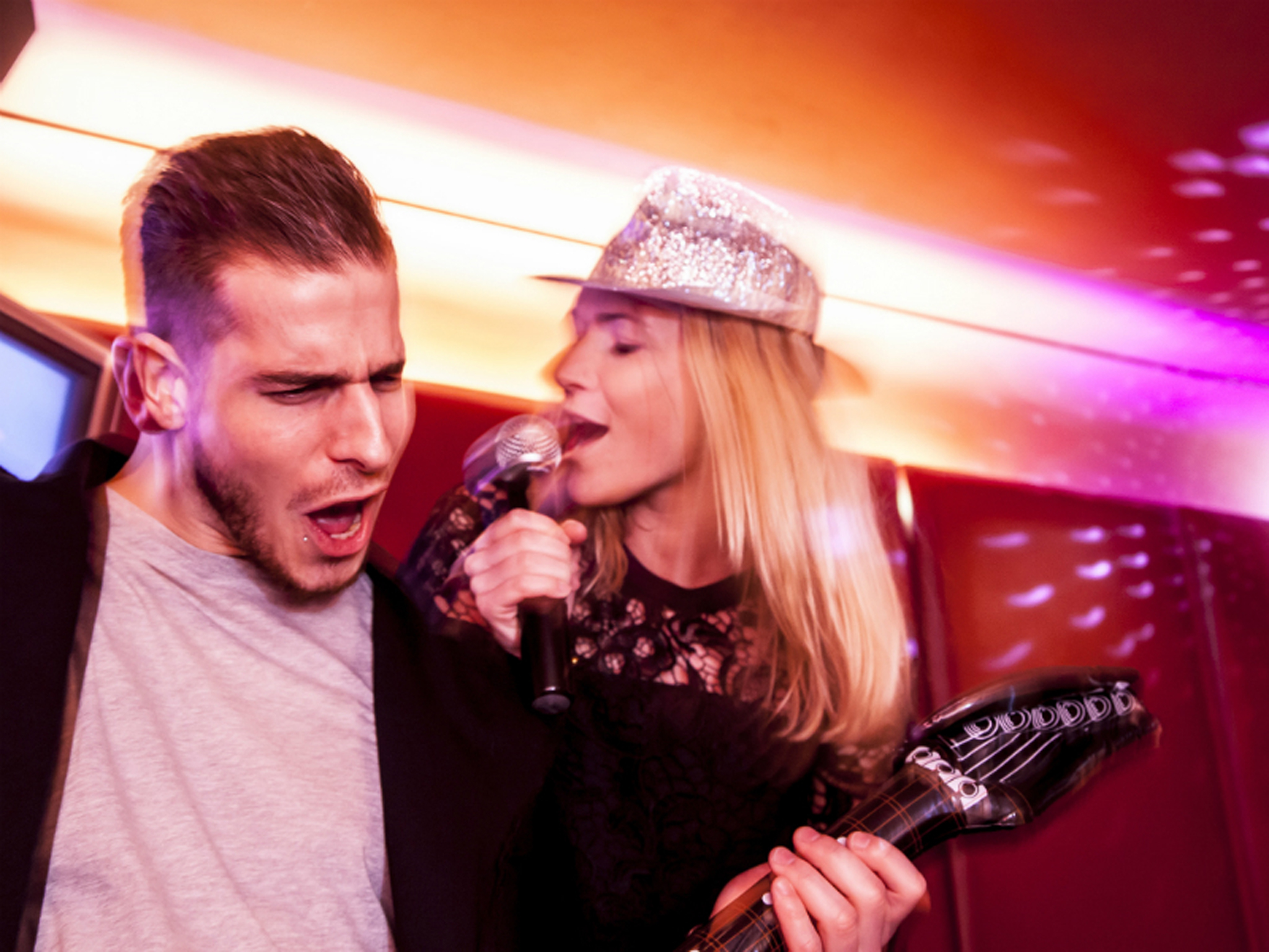 Late-night bars in London, karaoke