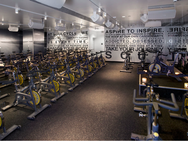 SoulCycle, a gym in San Francisco
