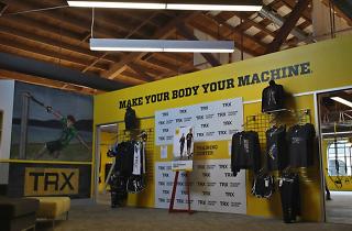 TRX Training Center, a gym in San Francisco