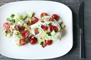 The Nico Wedge Salad at Nico Osteria is one of the best salads in Chicago.