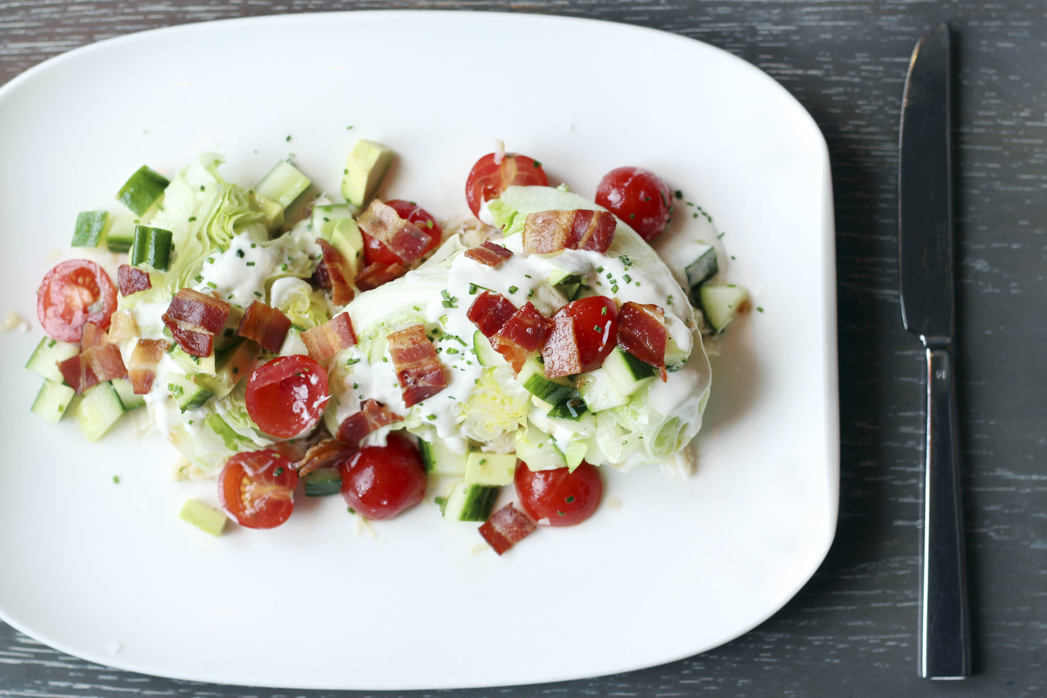 Nico Wedge Salad at Nico Osteria