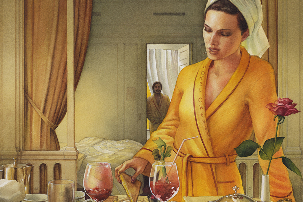 Check out Wes Anderson–inspired artworks on view in Chelsea