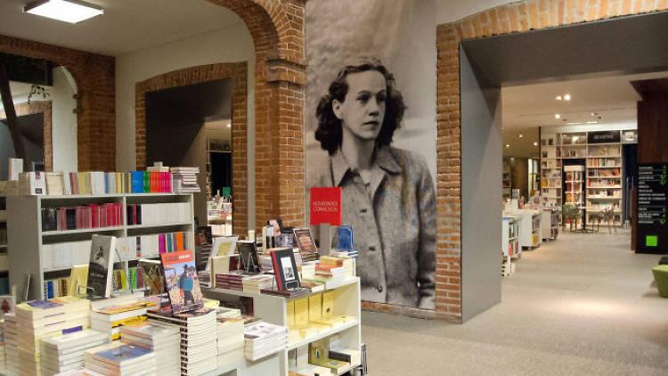 La librería centro cultural elena garro en coyoacán.