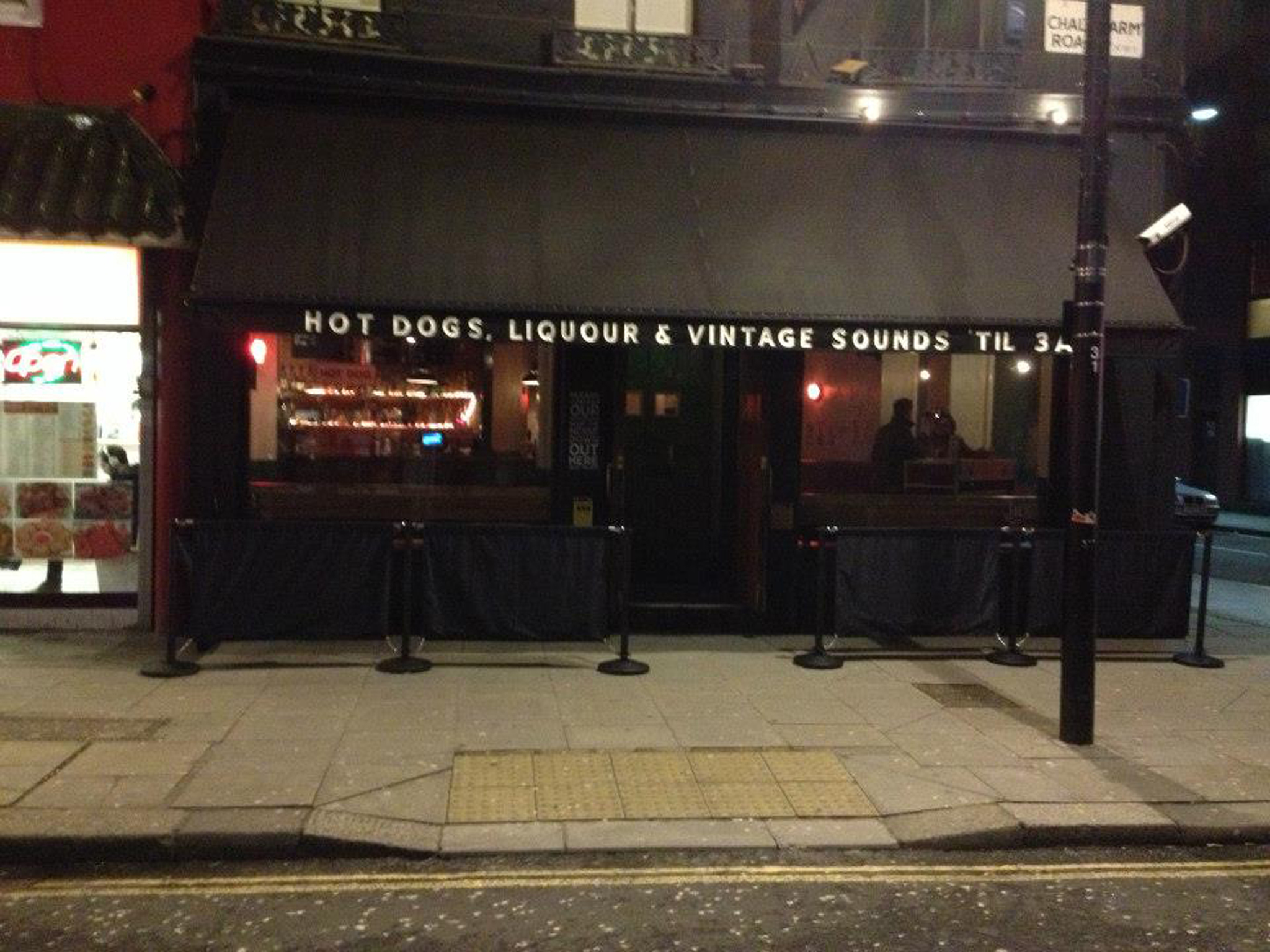 Late-night bars in London - Joes Camden