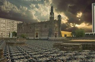 (Guillaume Krick & Benjamin Thomas, 'Erosions, paysages de banlieue d'Amérique du Nord (Mexico)', 2008-2012 / ©Guillaume Krick & Benjamin Thomas)