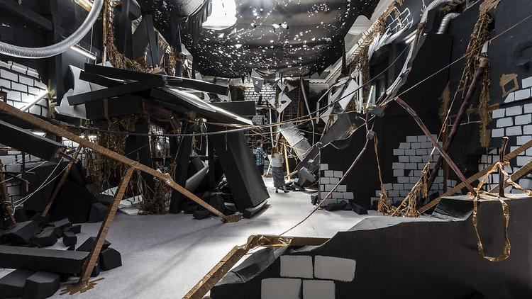 Thomas Hirschhorn: 'In-Between' at South London Gallery. © the artist. Photo: Mark Blower
