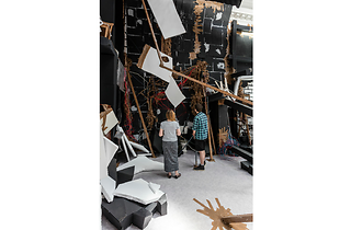 (Thomas Hirschhorn: 'In-Between' at South London Gallery. © the artist. Photo: Mark Blower)