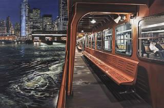 Staten Island Ferry Arriving in Manhattan, 2012