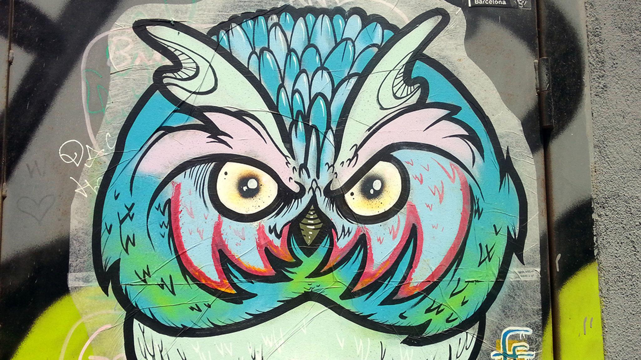 Street Art in Poble Nou, Barcelona