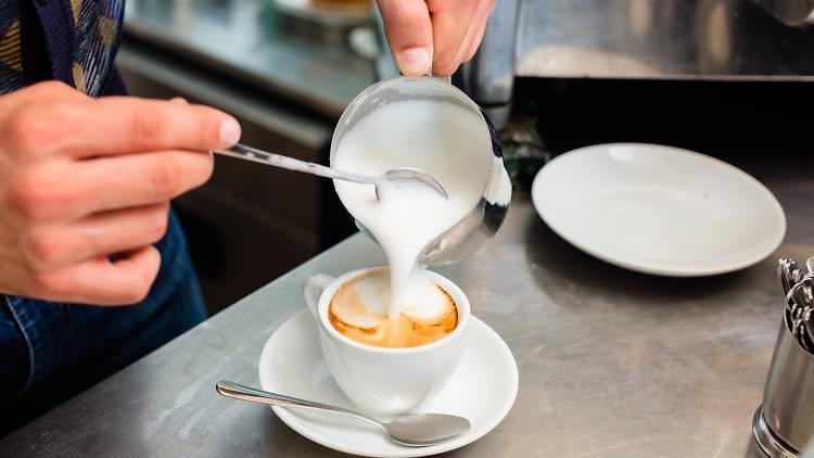 Cafè amb llet