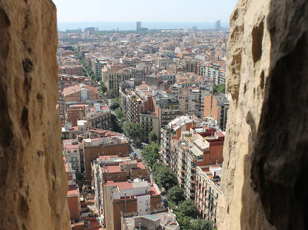Sagrada Familia Passion Tower