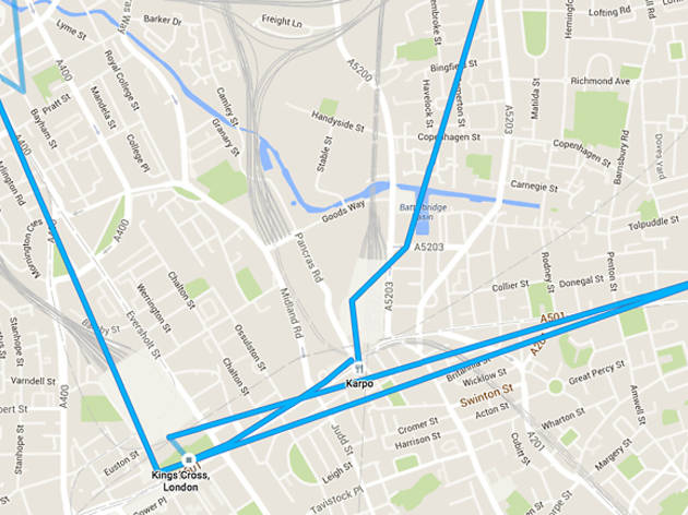 Can Now Virtually Retrace Your Every Step Through Google Maps - Will my us android use google maps in copenhagen