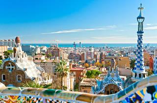 Image across Barcelona