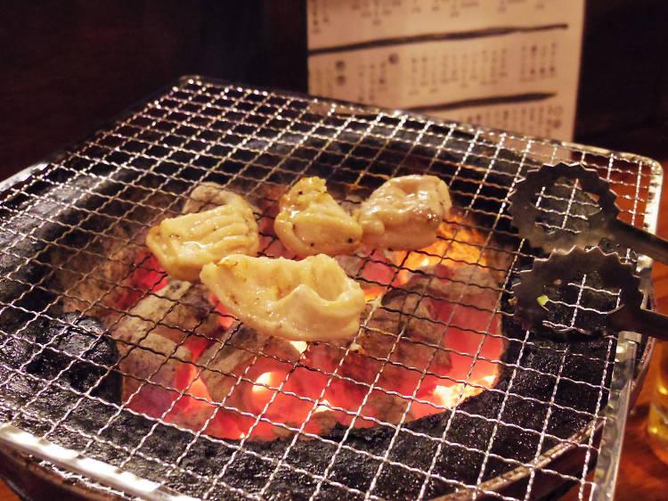 Take a gourmet anatomy lesson at Kameido Horumon