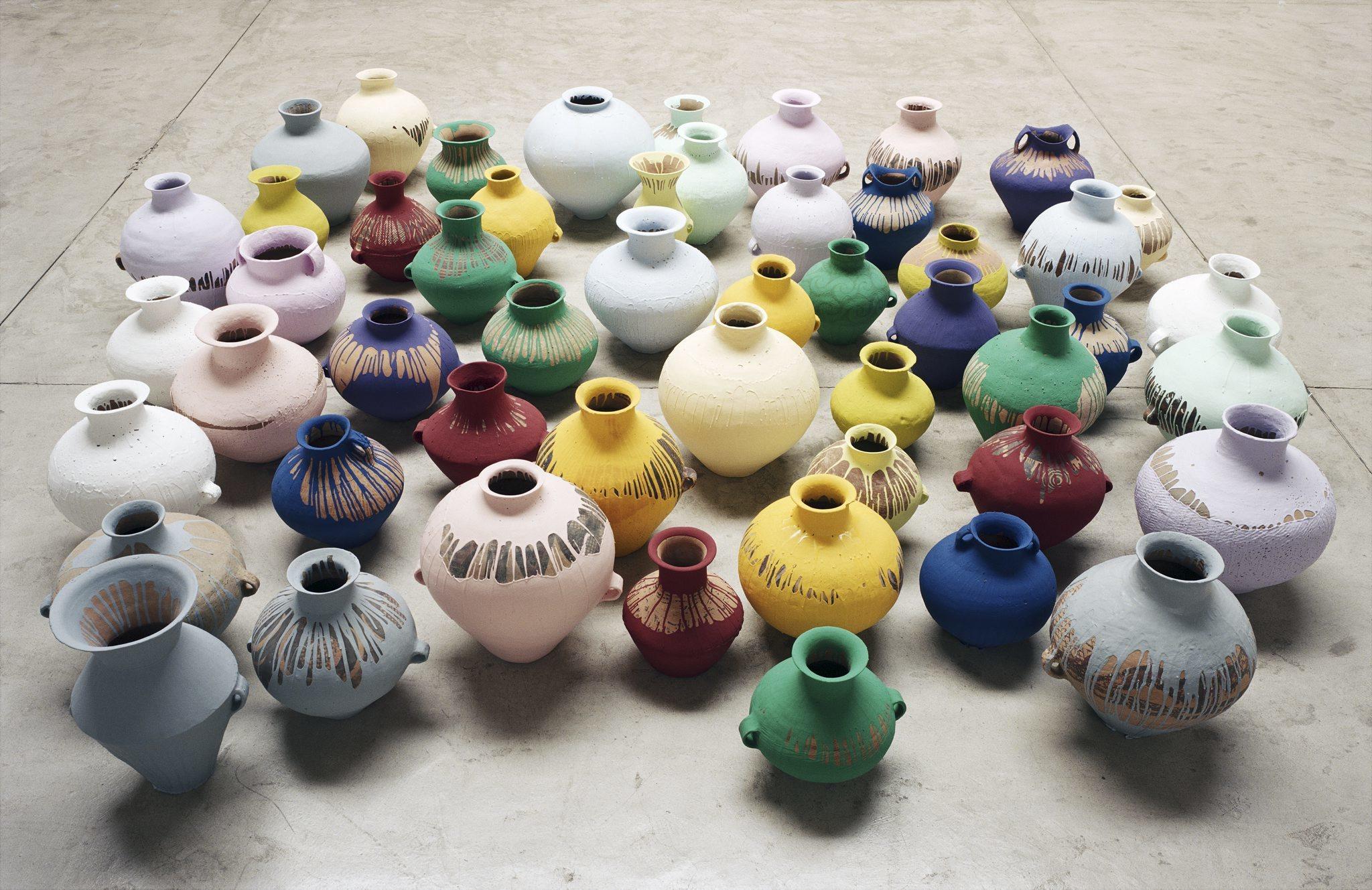 (Ai Weiwei: 'Coloured Vases', 2006. ©Ai Weiwei)