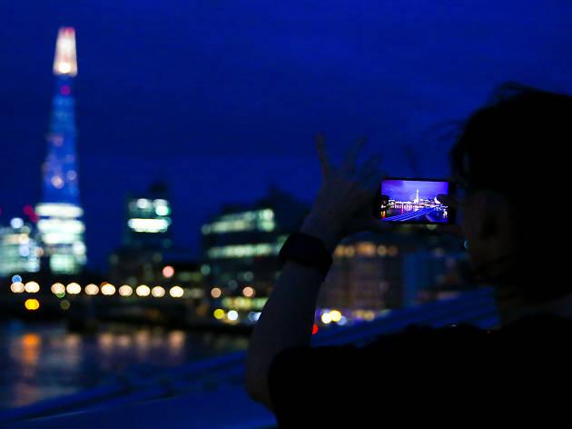 Sony Xperia illuminated London