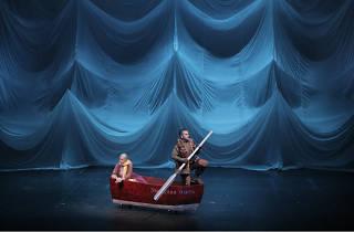 Laika función de teatro para niños