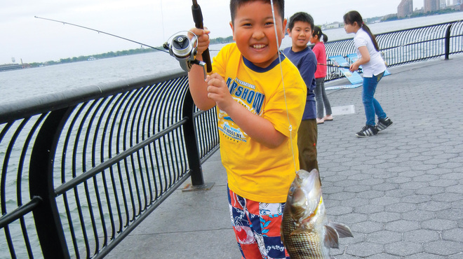 Best kids fishing spots in NYC