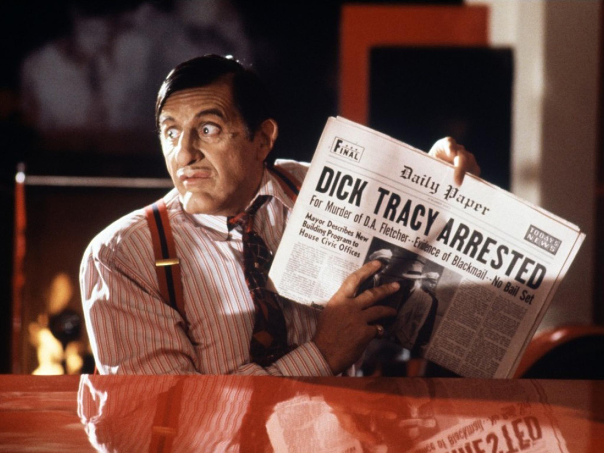 Al Pacino's worst performances - Dick Tracy