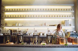 Samovar Tea Bar, a tea house in San Francisco