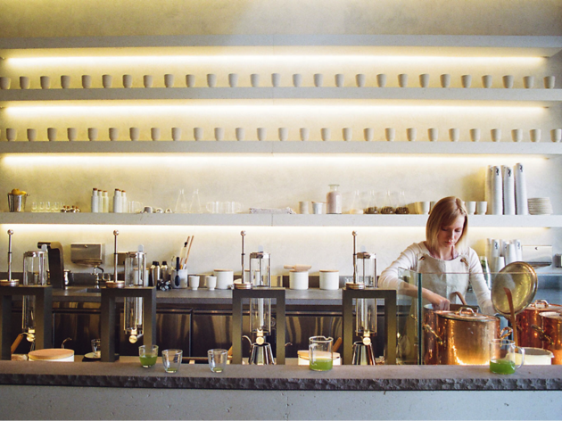 Samovar Tea Bar, a tea house in San Francisco
