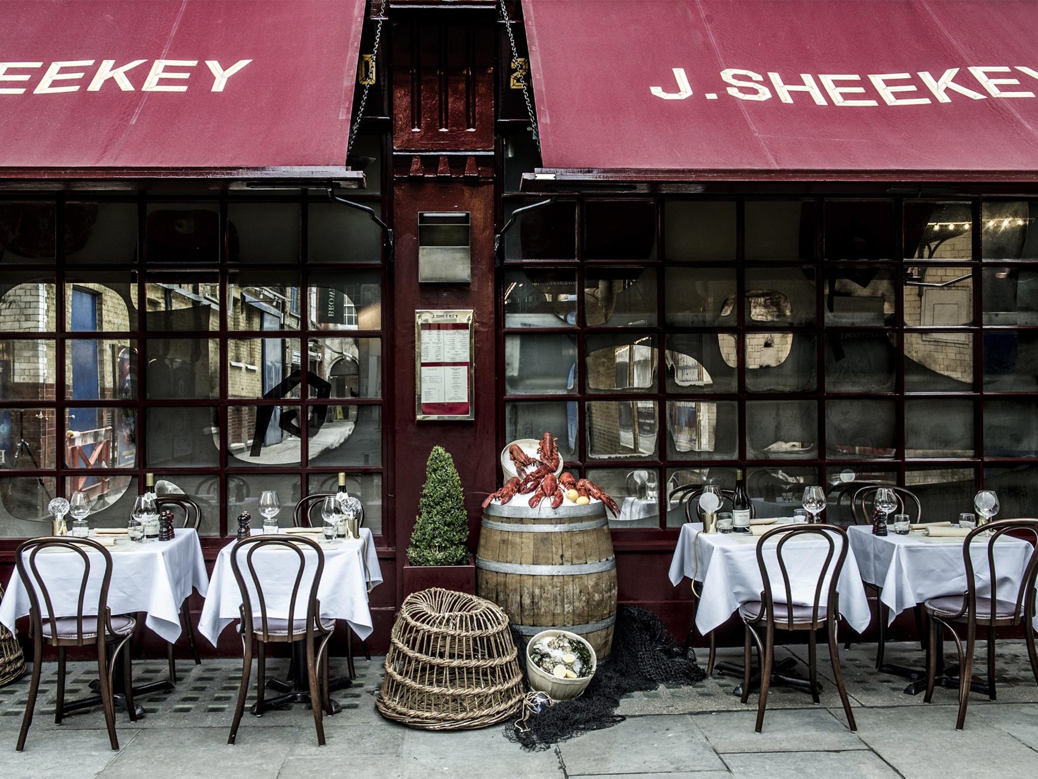 J Sheekey Oyster Bar