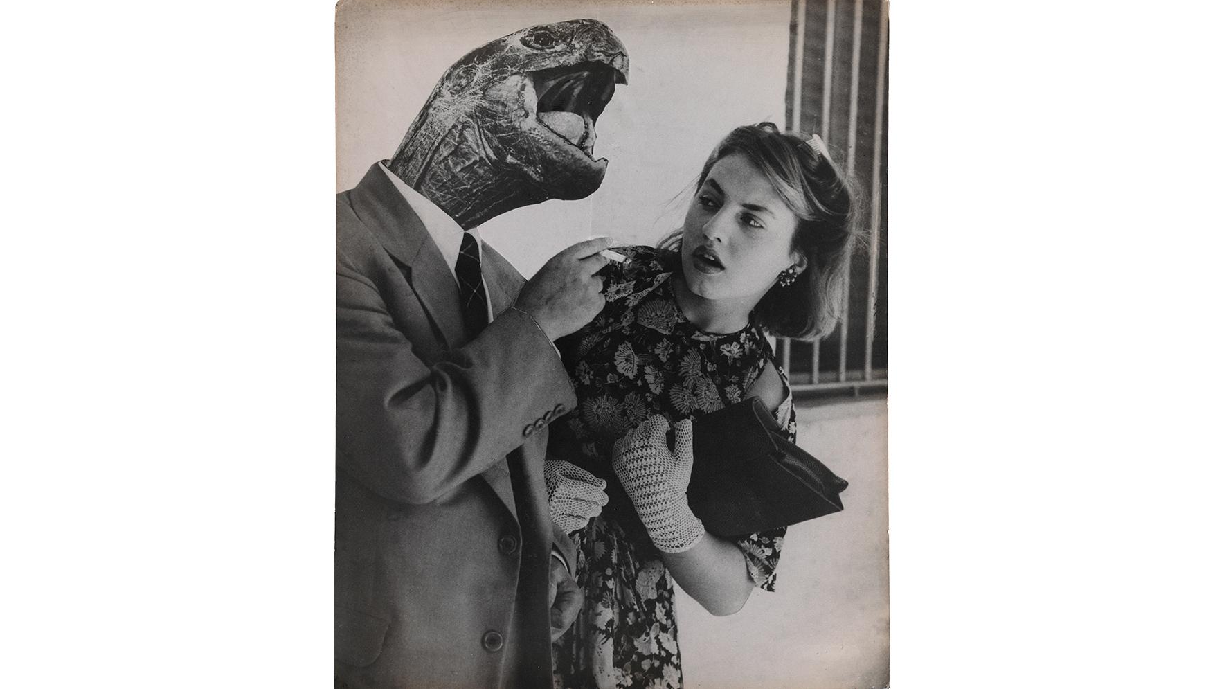 Grete Stern, Sueño No. 28: Amor sin ilusión (Dream No. 28: Love Without Illusion), 1951