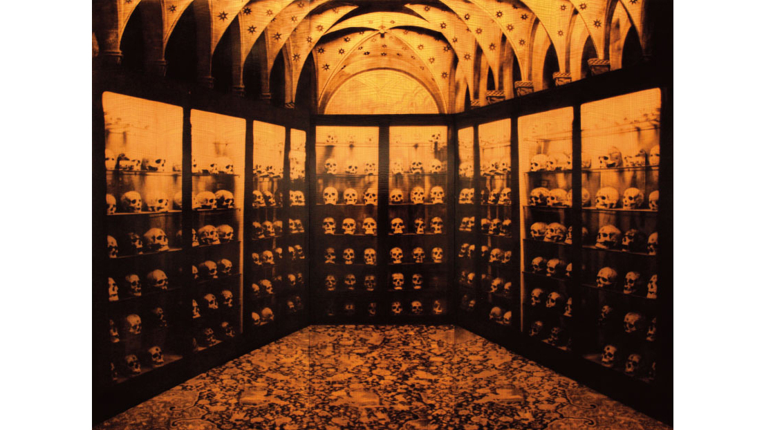 Fariba Hajamadi, Enormous as Insomnia—the Guanches, Museo Canario, 1991