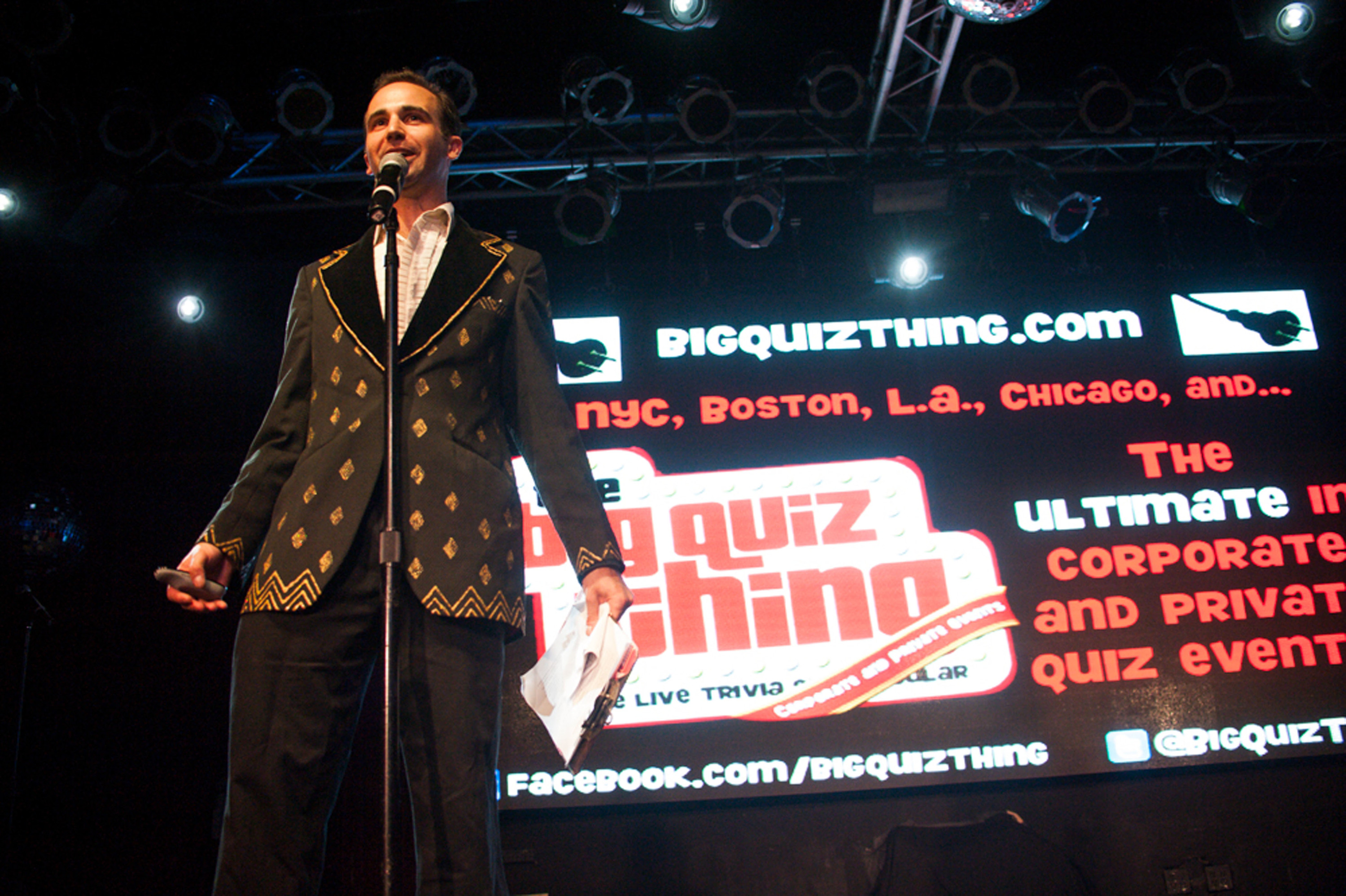 The Big Quiz Thing at Q.E.D. and the Slipper Room
